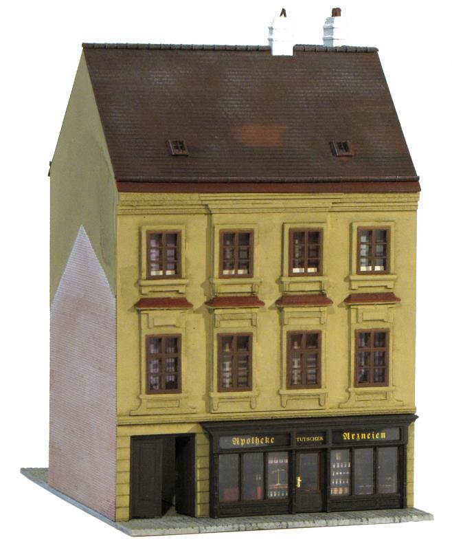 artbeeren h0 modelle aus sterreich alt wiener zwerchhof. Black Bedroom Furniture Sets. Home Design Ideas